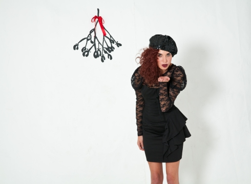 Black Long sleeve Lace top
